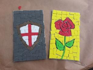 Taller de mosaics de sant jordi